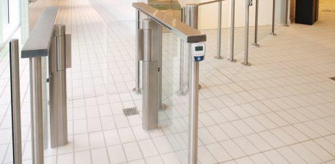 Secure turnstile access