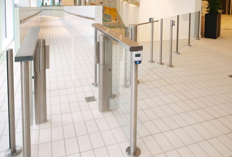 Secure turnstile access