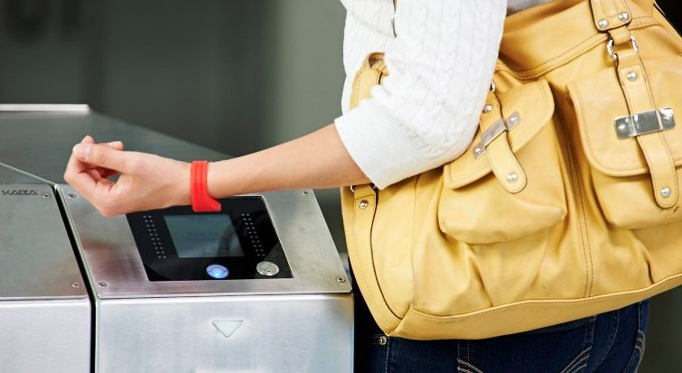 Contactless wristbands for access