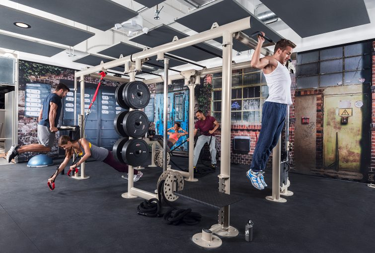 Member ID cards can be linked to fitness data