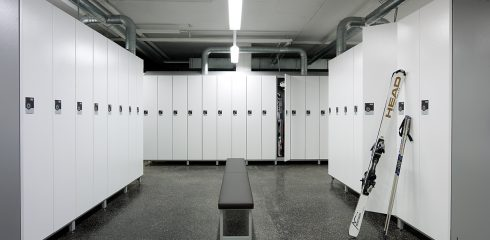 Lockers can be rented out on a per hour basis