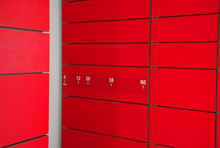 Smart lockers are high security spaces